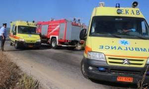Κοζάνη: Τρόμος με τουριστικό λεωφορείο στην Εγνατία Οδό