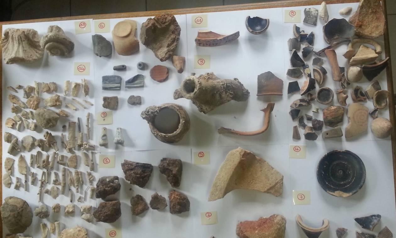 Χαλκιδική: Έκρυβε θησαυρό στις αποθήκες του (pics)