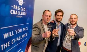 Έλληνες φοιτητές κερδίζουν τις εντυπώσεις στον πρωτοπόρο διαγωνισμό «CEO Challenge» της P&G