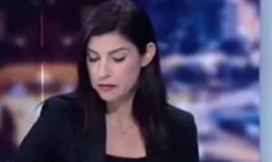 Παρουσιάστρια ξέσπασε σε λυγμούς στον αέρα, όταν της ανακοίνωσαν ότι... (video)