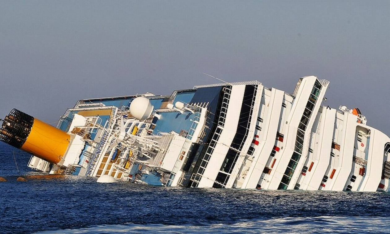 Ιταλία: Αυτή είναι η ποινή του καπετάνιου του Costa Concordia