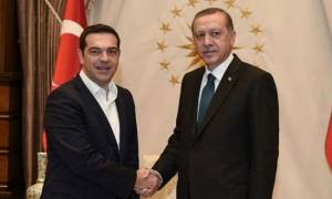Συνάντηση Τσίπρα - Ερντογάν