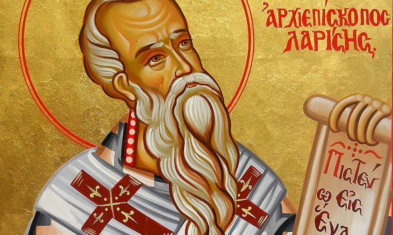 Η Λάρισα τιμά τη Δευτέρα τον πολιούχο της Άγιο Αχίλλιο