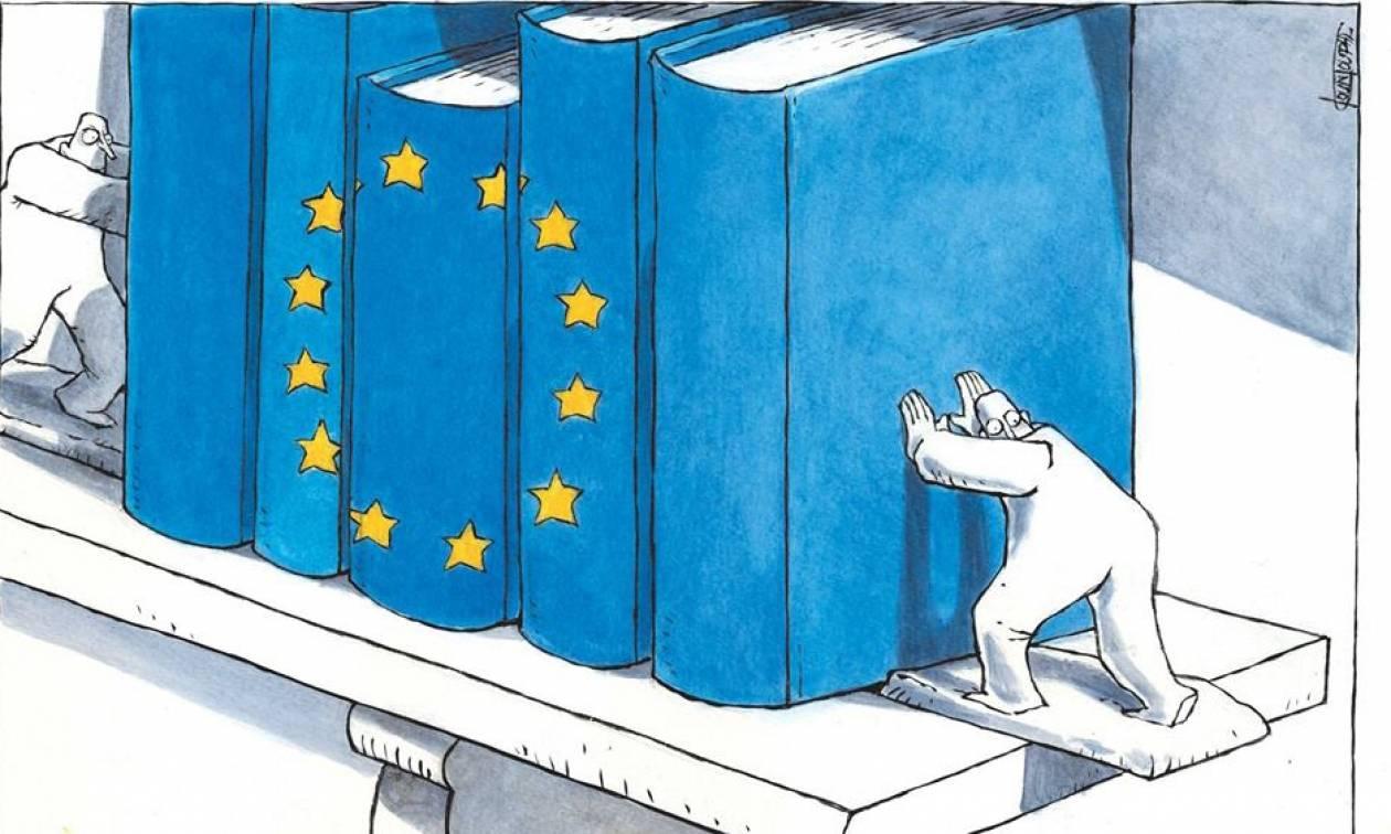 Sweet Europe: Έκθεση γελοιογραφίας στο Σύνταγμα