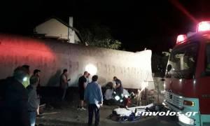 Εκτροχιασμός αμαξοστοιχίας στο Άδενδρο Θεσσαλονίκης