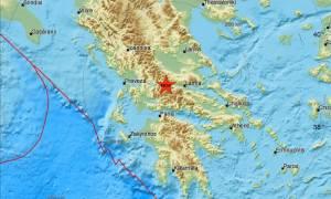 Σεισμός στο Καρπενήσι