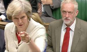 Εκλογές Βρετανία: «Καλπάζει» η Τερέζα Μέι έναντι του Κόρμπιν