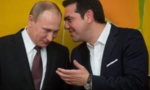 Συνάντηση Αλέξη Τσίπρα με Βλαντίμιρ Πούτιν