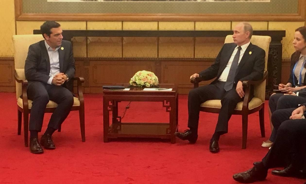 Τι συζήτησε o Αλέξης Τσίπρας με τον Βλαντίμιρ Πούτιν