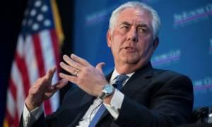 Τίλερσον: Έχουμε πολύ κακές σχέσεις με την Ρωσία και αυτό δεν πρόκειται να αλλάξει