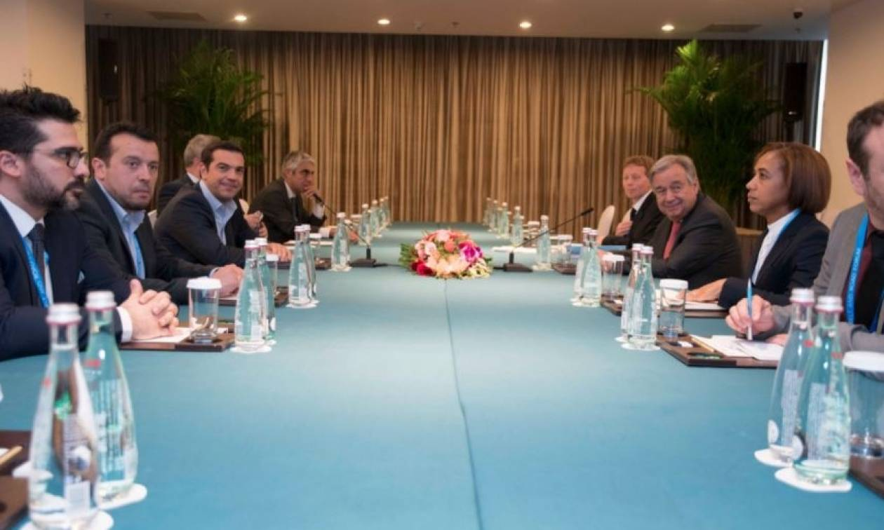 Συνάντηση Τσίπρα με Πούτιν Λέιτχαρντ και Γκουτέρες στην Κίνα