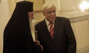 Παυλόπουλος σε Ιερώνυμο: Να υπερασπιζόμαστε τις αρχές και τις αξίες της Χριστιανοσύνης
