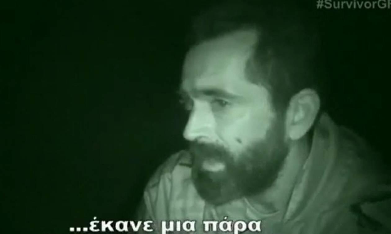 Survivor: Πρώτη μέρα χωρίς Λάουρα... Η αντίδραση του Μπο και του Χρανιώτη (video)