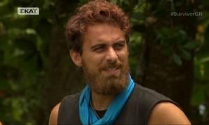 Survivor - Η ενόχληση του Μάριου: «Δεν κλάψατε που έφυγε ο Ορέστης και κλάψατε για τη Λάουρα»