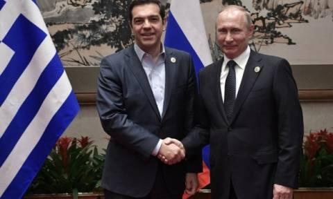 В Пекине состоялась встреча Владимира Путина и Алексиса Ципраса