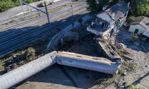 Εκτροχιασμός τρένου Θεσσαλονίκη: Ολοκληρώθηκε η απομάκρυνση του πρώτου βαγονιού