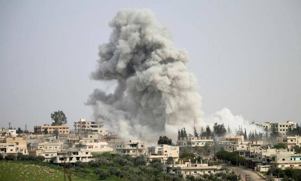 Συρία: Τουλάχιστον 23 άμαχοι νεκροί από αεροπορικά πλήγματα του διεθνούς συνασπισμού