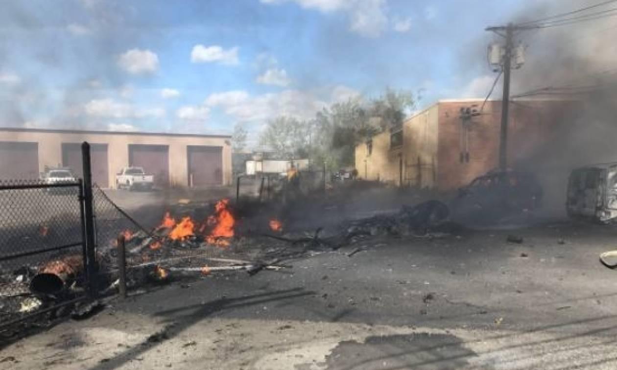 ΗΠΑ: Συντριβή αεροσκάφους - Τουλάχιστον δύο νεκροί (pics+vid)