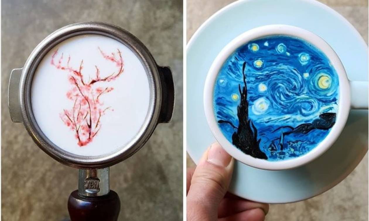 Viral: Τέτοιον εντυπωσιακό καφέ δεν έχετε πιει και αυτό είναι υπόσχεση (Pics)