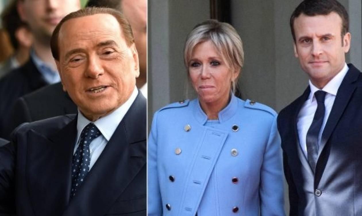 Ιταλία: Χυδαίες δηλώσεις Μπερλουσκόνι για τον Μακρόν και τη σύζυγό του (vid)