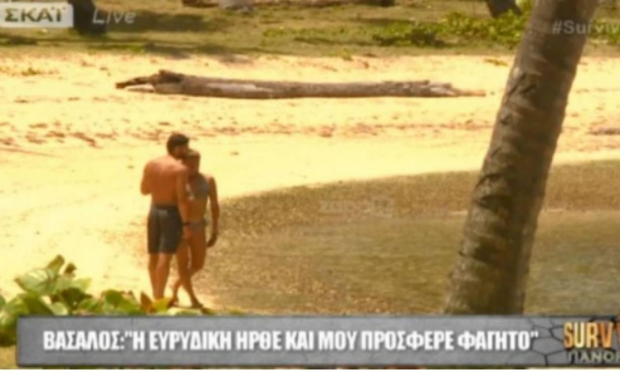 Survivor: Τι τρέχει ανάμεσα σε Ευριδίκη και Βασάλο; Το πλάνο και η απάντηση της Λάουρας (video)