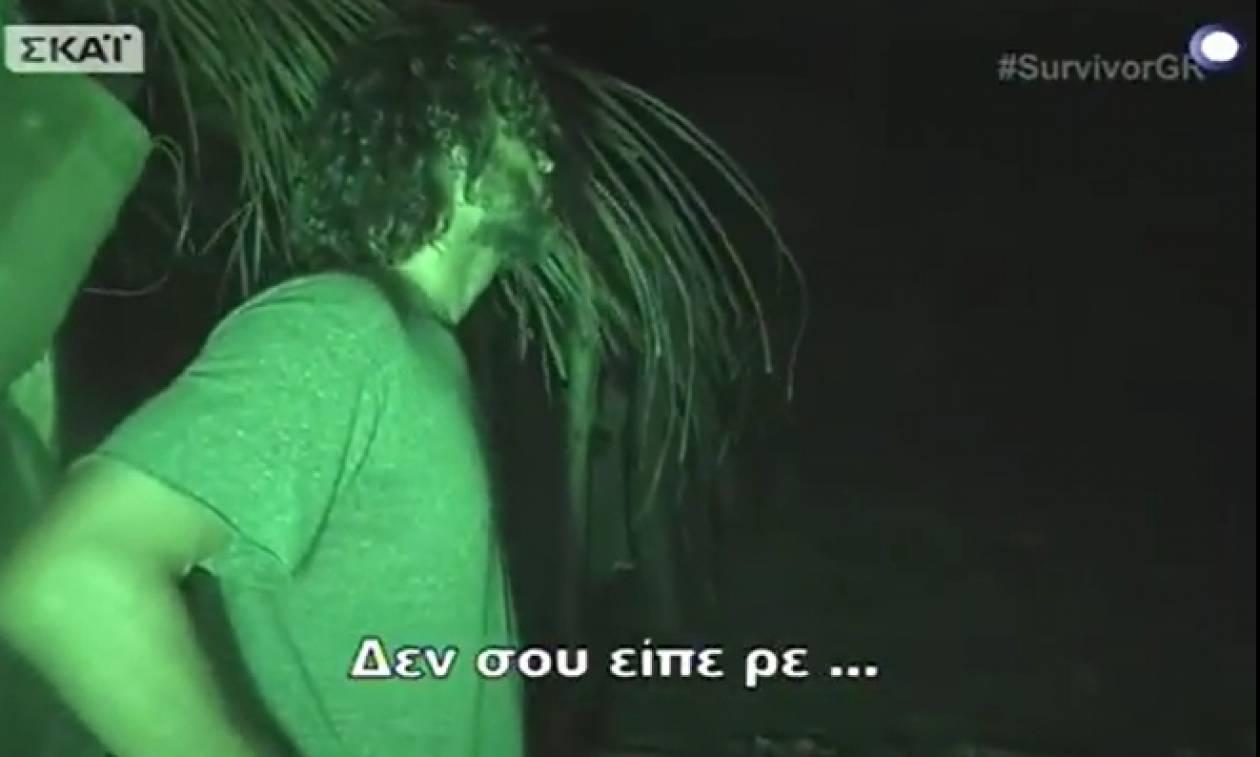 Σοκαριστική επίθεση Κοκκινάκη στον Σπαλιάρα: «Μην κοιτάς σαν μ... ρε» (Video)