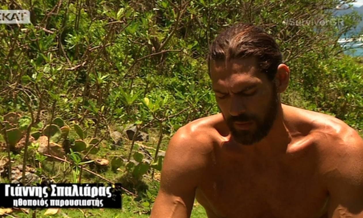Survivor: Δεν φαντάζεστε τι ποσοστό πήρε ο Γιάννης Σπαλιάρας στην ψηφοφορία!