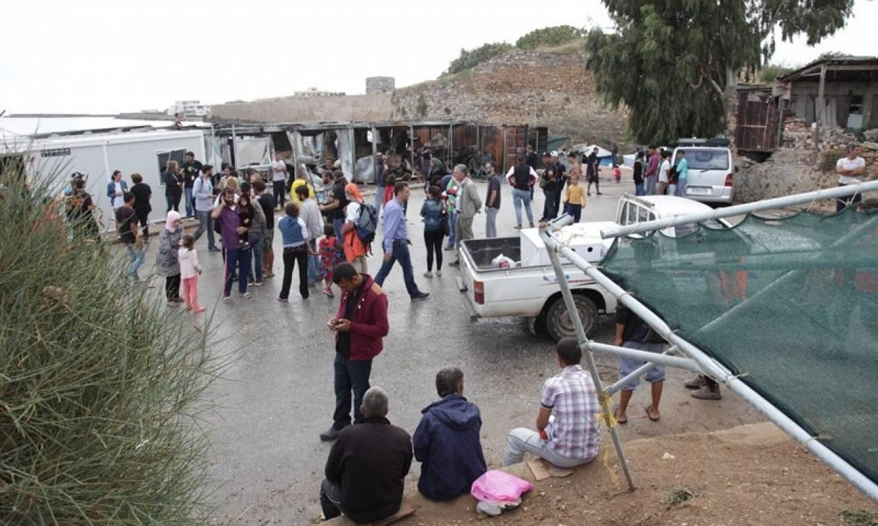 Χίος: Δεκάδες πρόσφυγες στο νοσοκομείο
