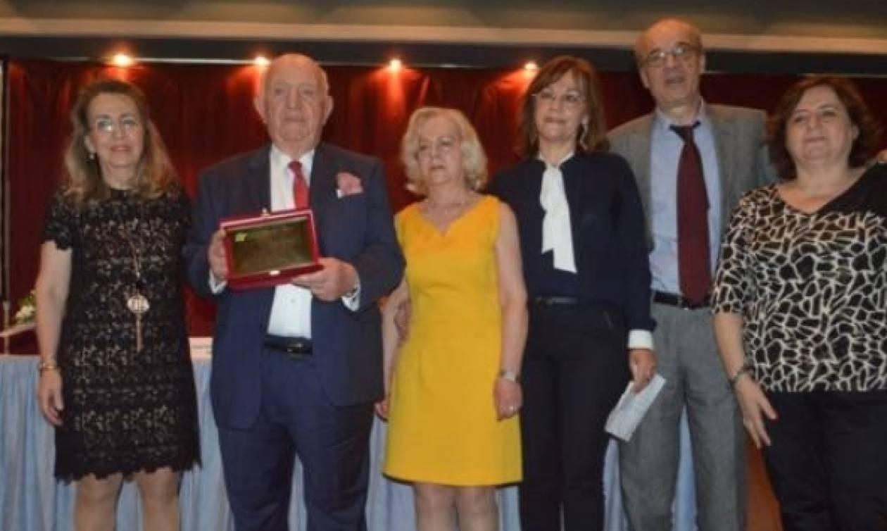 Ο Φαρμακευτικός Σύλλογος Αρκαδίας τίμησε τον Σταύρο Δέμο