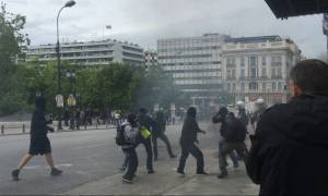 Επεισόδια στο κέντρο της Αθήνας (pics&vid)
