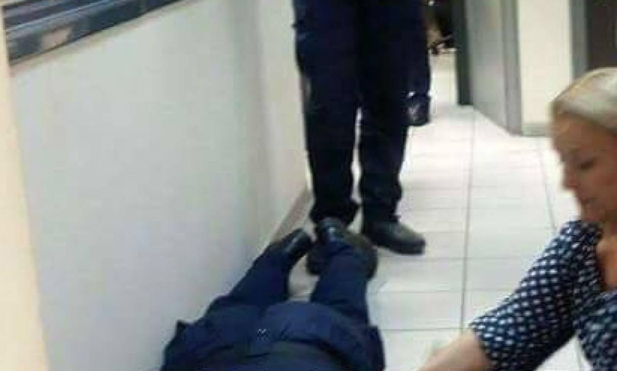 Σοκ: Δικηγόρος έκανε τόπι στο ξύλο δύο αστυνομικούς στην Ευελπίδων (photos)