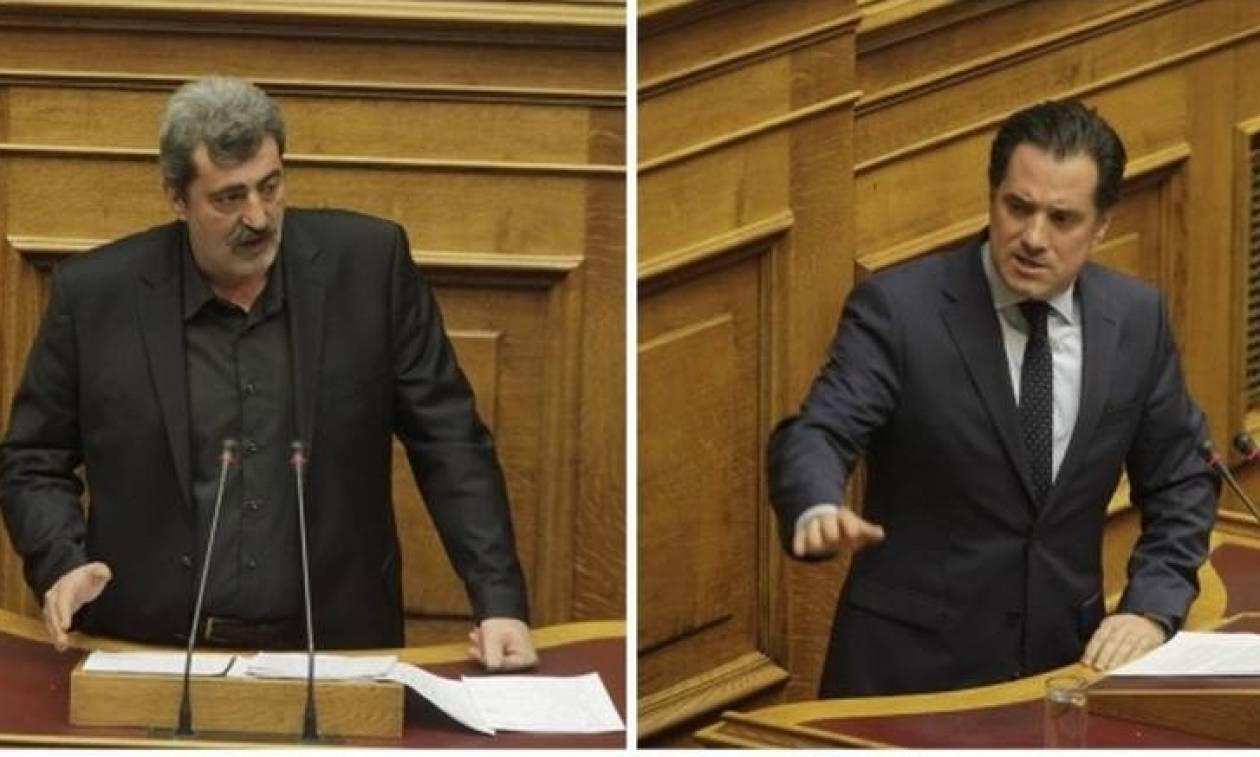 Βουλή: Κόντρα Γεωργιάδη - Πολάκη στην Ολομέλεια