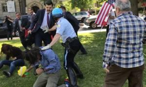 Αυστηρό διάβημα ΗΠΑ σε Τουρκία: Ψάχνουμε τους αστυνομικούς του Ερντογάν - Θα τους συλλάβουμε