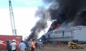 Κολομβία: Τέσσερις νεκροί και 22 τραυματίες από εκρήξεις σε ναυπηγείο (videos)