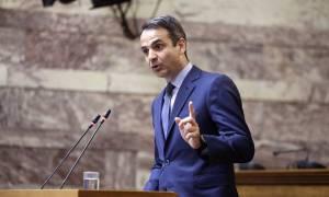 Βουλή: Σφοδρή επίθεση Μητσοτάκη κατά Τσίπρα και Καμμένου
