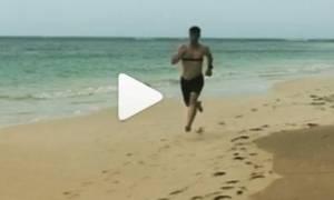 Η προπόνηση του Σάκη Ρουβά λίγο πριν μπει στο Survivor (video)