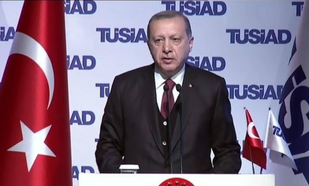 Ερντογάν: Η ΕΕ έχει την Ελλάδα στα «ώπα - ώπα»