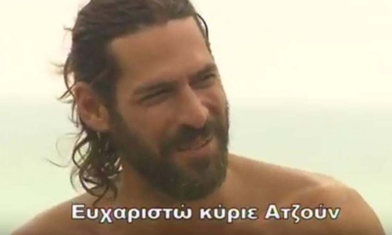 Σπαλιάρας ο... Greek Kαζανόβας! Ετσι τον σύστησε ο Ιλιτζαλί στην τουρκική ομάδα (Video)
