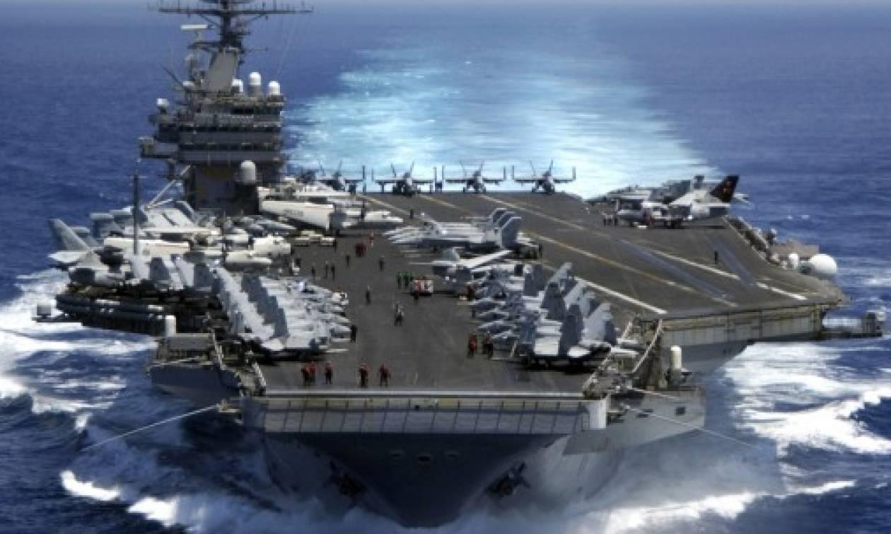 Κόκκινος συναγερμός: Το αεροπλανοφόρο Ronald Reagan στην κορεατική Χερσόνησο