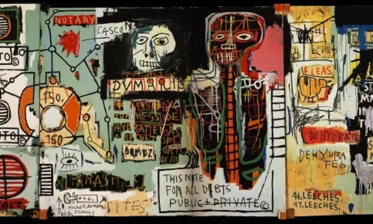 Τιμή ρεκόρ για πίνακα του Μπασκιά, πωλήθηκε 110,5 εκατομμύρια δολάρια!