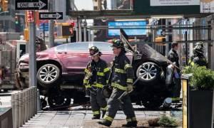 Νέα Υόρκη: Τρεις άνθρωποι σε κρίσιμη κατάσταση μετά την επίθεση στην Times Square