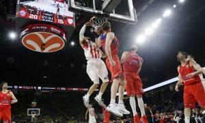 Final Four Ευρωλίγκας: Στον τελικό ο Ολυμπιακός