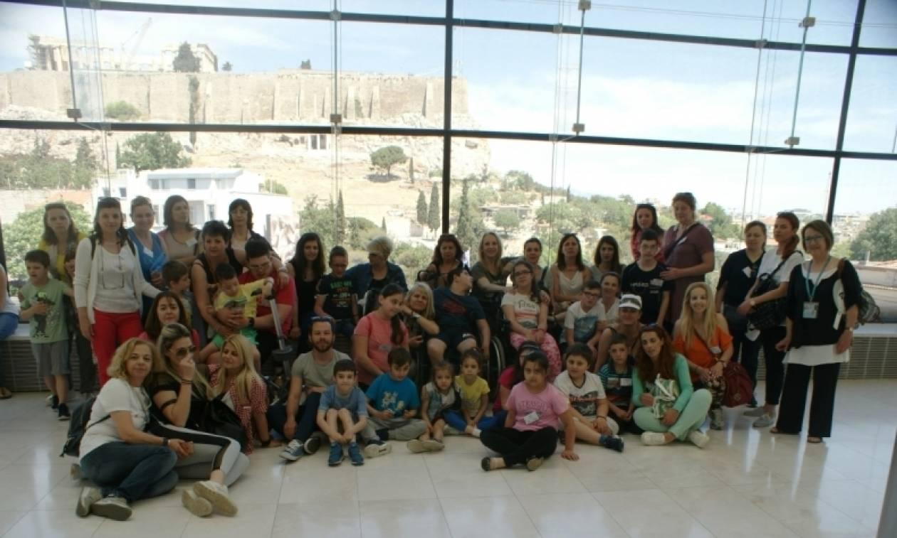 Οι «Μικροί Ροβινσώνες» εξερεύνησαν την Αθήνα