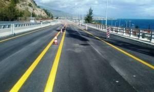 Κυκλοφοριακές ρυθμίσεις στον αυτοκινητόδρομο Κορίνθου - Πατρών