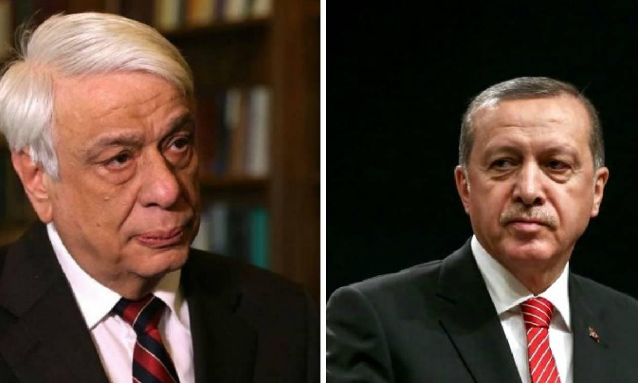 Συνάντηση Παυλόπουλου – Ερντογάν: Τι θα πει ο Έλληνας Πρόεδρος στον «σουλτάνο»