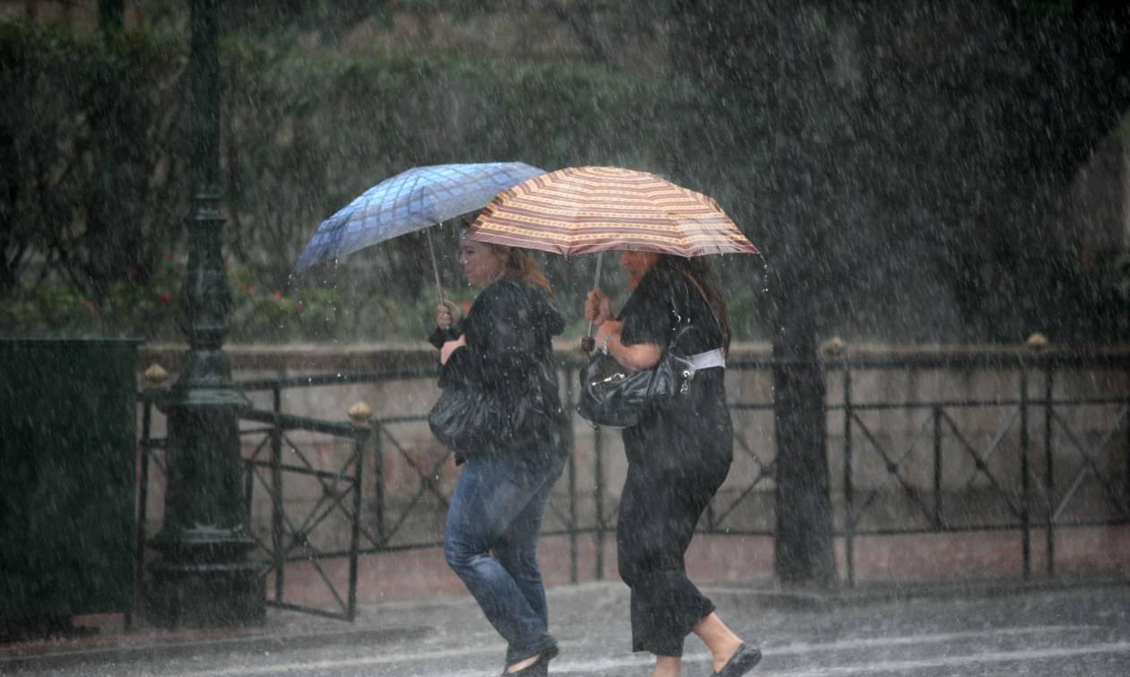 Καιρός: Έκτακτο δελτίο επιδείνωσης - Ισχυρές βροχές, καταιγίδες και χαλάζι