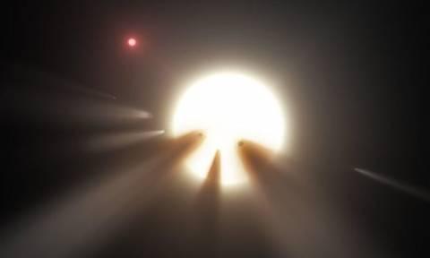 Μυστήριο: Τεράστια εξωγήινη κατασκευή ρουφά τη φωτεινότητα του «άστρου της Τάμπι»;