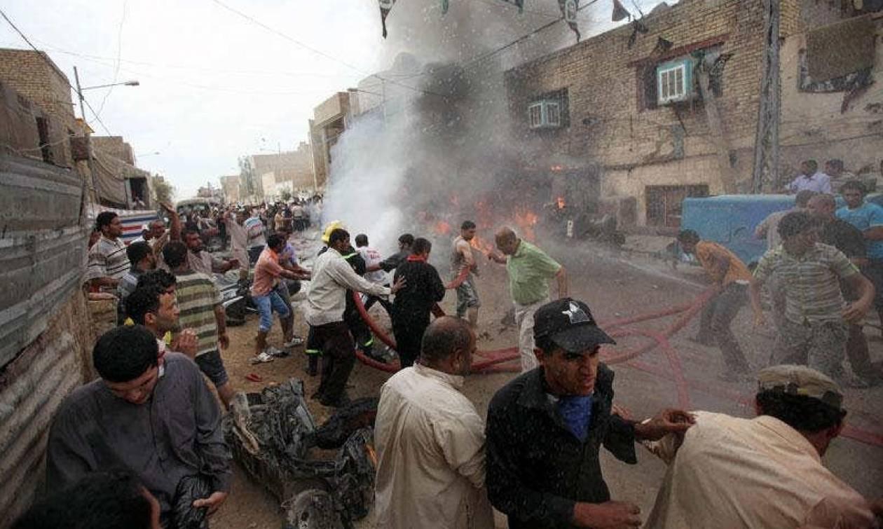 Ιράκ: Τουλάχιστον 35 νεκροί από βομβιστικές επιθέσεις τζιχαντιστών