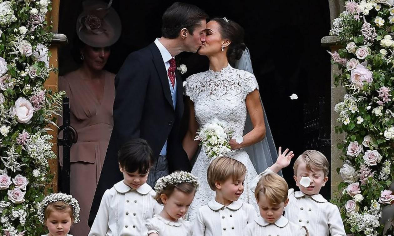 Ο γάμος της χρονιάς: Παντρεύτηκε η Πίπα Μίντλετον (photos)