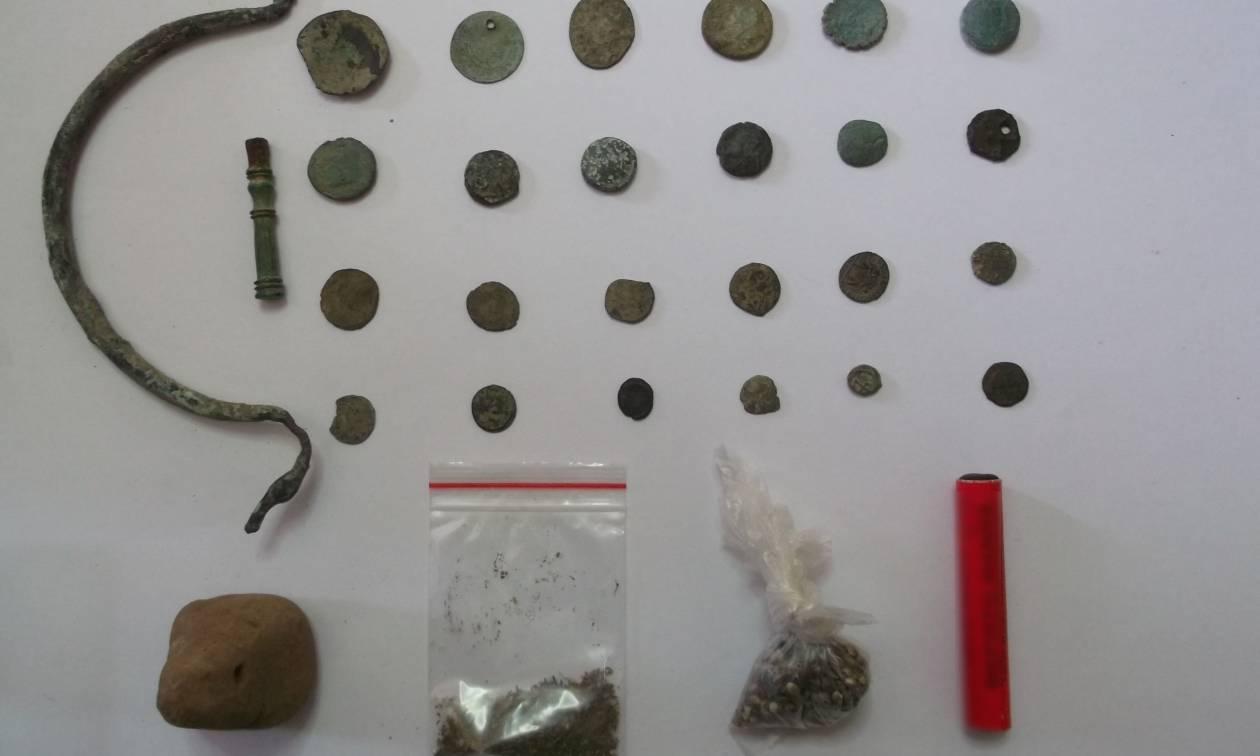 Τρεις συλλήψεις για αρχαιοκαπηλία στα Γρεβενά (pics)